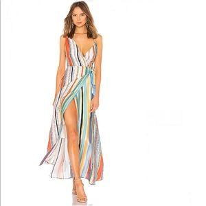Lovers+Friends Montague Maxi Dress in Aruba Stripe